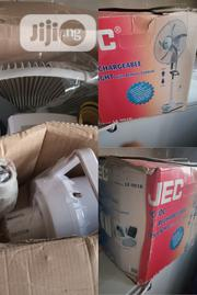 A Fan With Remote Control And Light And Rechargeable Battery | Home Appliances for sale in Oyo State, Ibadan North East