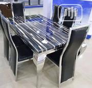 High Quality 6-Seater Marble Dining Table | Furniture for sale in Rivers State, Port-Harcourt