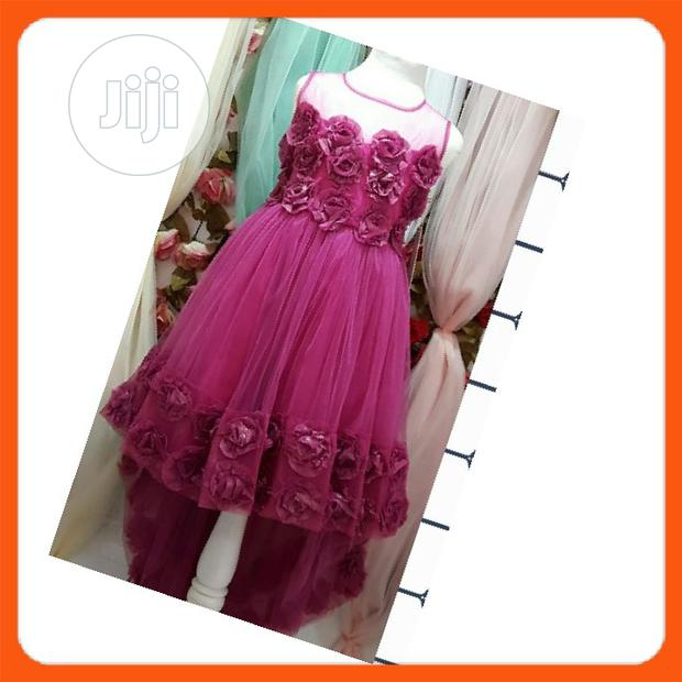 Pink Party Ball Gown
