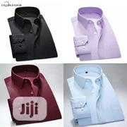 4 in 1 Set of Men Quality Plain Long Sleeve Shirt | Clothing for sale in Lagos State, Lagos Island