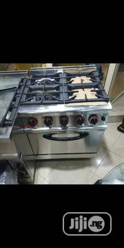 4 Burner Gas Cooker With Oven | Restaurant & Catering Equipment for sale in Lagos State, Ojo
