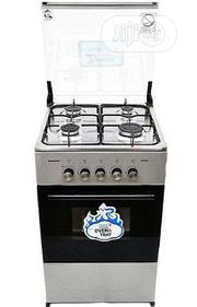 Scanfrost 4-burner Gas Cooker CK-5400 NG - Silver   Kitchen Appliances for sale in Plateau State, Jos North