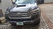 Toyota Tacoma 2016 4dr Double Cab Gray | Cars for sale in Lagos State, Ojodu