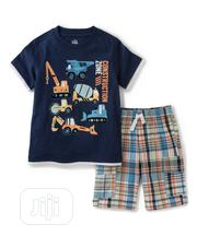 Kids Headquarters Boys Tee and Short | Children's Clothing for sale in Lagos State, Surulere