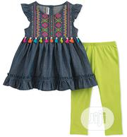 Kids Headquarters Girls Top and Leggings | Children's Clothing for sale in Lagos State, Surulere