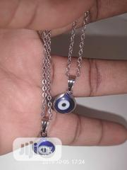 Fortified Blue Eyes Necklace   Jewelry for sale in Ogun State, Odeda