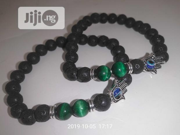 Archive: Fortified Business Chakra Blue Eyes Bracelet