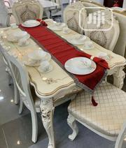 Standard High Quality Royal Dining Table With 6 Chairs | Furniture for sale in Lagos State, Ojo