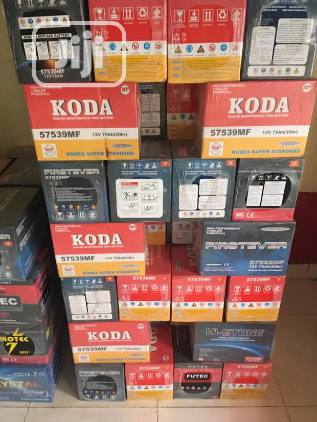 Koda And Firstever Batteries- 75AH