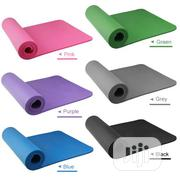 Premium And Body Friendly Non-slip Yoga Mat With Carrying Bag | Sports Equipment for sale in Lagos State, Surulere
