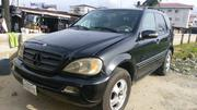 Mercedes-Benz M Class 2003 Black | Cars for sale in Rivers State, Port-Harcourt