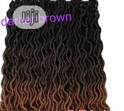 Faux Locks for Crochet or Single Braids. Two Colours Available | Hair Beauty for sale in Lagos State, Shomolu