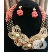 Handmade Neck Beads With Beaded Earring | Jewelry for sale in Lagos State, Surulere
