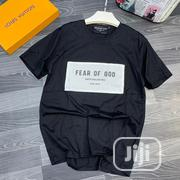 Fear of God Mens Top Black | Clothing for sale in Lagos State, Ikeja