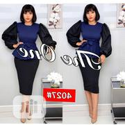 Ladies Formal Coperate Puff Hand Blouse and Skirt | Clothing for sale in Lagos State, Lagos Island