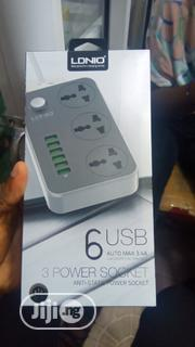 LDNIO 6 Usb 3 Socket Power Supply | Computer Hardware for sale in Lagos State, Ikeja