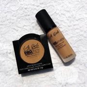 Lagirl Matte Powder + Pro Matte Foundation | Makeup for sale in Lagos State, Lagos Mainland