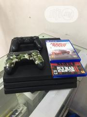 Play Station 4 Pro 1TB, 2pads And 2games | Video Game Consoles for sale in Lagos State, Ikeja
