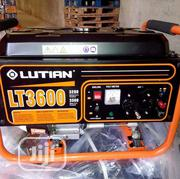 Lutian LT3600 3.5KVA Manual Starter Generator | Electrical Equipments for sale in Lagos State, Amuwo-Odofin