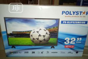 Polystar 32 Inches Smart Television With Netflix