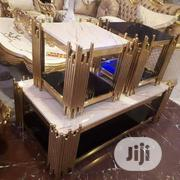 Marbletop Set of Table With Side Stools | Furniture for sale in Lagos State, Ojo