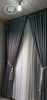 Black Doted Curtain | Home Accessories for sale in Lagos State, Ikeja