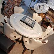 Dinning Table (Round / Rotating Top) | Furniture for sale in Abuja (FCT) State, Utako