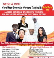 Coral Free Domestic Workers Training And Job Fair Abuja,!!   Housekeeping & Cleaning Jobs for sale in Abuja (FCT) State, Maitama
