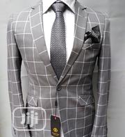 Light Ash Checkers Suit | Clothing for sale in Lagos State, Lagos Island