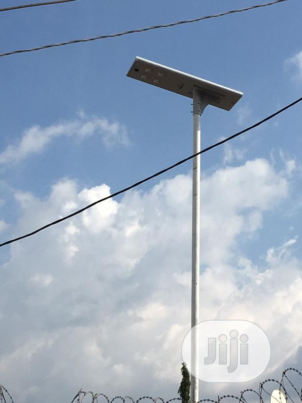 All In One Solar Street Light For REA Project 60watts
