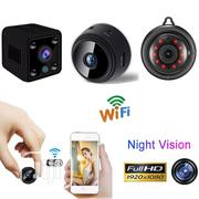 Spy Camera Wireless Wifi IP Home Security HD 1080P DVR Night Vision | Security & Surveillance for sale in Lagos State, Ikeja