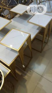 Center Table With 4 Piece Side Stool | Furniture for sale in Lagos State, Ikeja