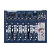 7 Channel Audio Mixer / Mixing Console With USB Interface - F7 | Audio & Music Equipment for sale in Lagos State, Ojo