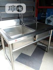 Standard Original Double Sinks With Tap | Building Materials for sale in Lagos State, Ojo