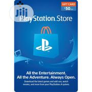 PSN $50 Gift Card For PS3/PS4/Psvita | Video Games for sale in Lagos State, Agege