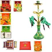 4 Hose Eagle Design Shisha Pot With Flavors and Charcoal | Tabacco Accessories for sale in Rivers State, Port-Harcourt