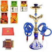 4 Hose Eagle Design Shisha Hookah Pot With Flavor | Tabacco Accessories for sale in Rivers State, Port-Harcourt
