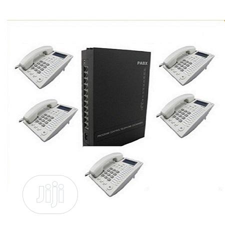 OEM 8ext. Intercomms 5 Telephone Sets Cables