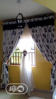 Complete Set Of Curtain Just 3 Months Old Very Clean | Home Accessories for sale in Lagos State, Ikotun/Igando