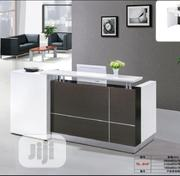 White Reception Desk 1.8 Meters | Furniture for sale in Lagos State, Ikoyi
