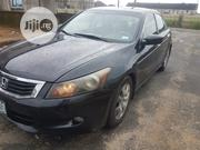 Honda Accord 2008 3.5 EX Automatic Black   Cars for sale in Rivers State, Port-Harcourt