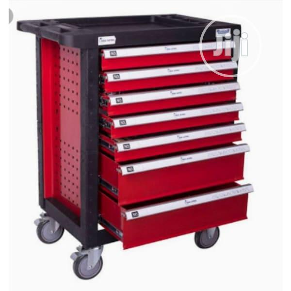 7 Drawer Mobile Workshop Toolbox