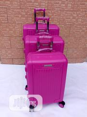 ABS Resilient Shell Trolley Travel Luggage Withe 4 Wheels   Bags for sale in Lagos State, Ikeja