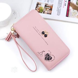 Wallet Women Long Cute Purse PU Leather