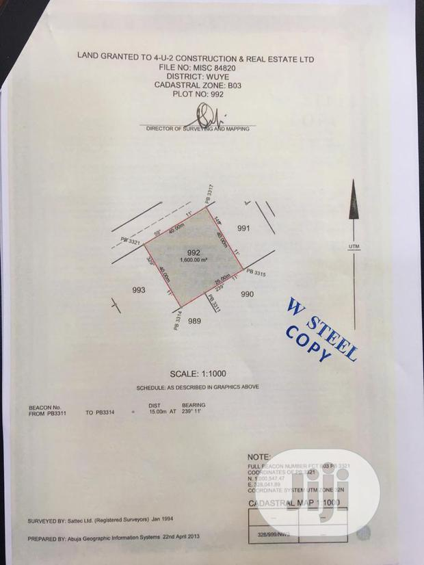 1600sqm Commercial Land