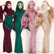Classic Women's Islam Double Sleeve Dress | Clothing for sale in Lagos State, Victoria Island