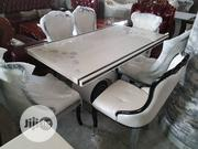 By 6 Glass Mable Royal Dinning Table | Furniture for sale in Lagos State, Ojo