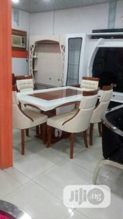 By 6 Glass Mable Dinning Table | Furniture for sale in Lagos State, Ojo