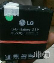 Original LG Battery 53QH For Optimus 4x HD | Accessories for Mobile Phones & Tablets for sale in Lagos State, Ikeja