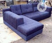 A Brand New 5seaters Lite Blue L Shape for Your Living Room | Furniture for sale in Lagos State, Lagos Mainland